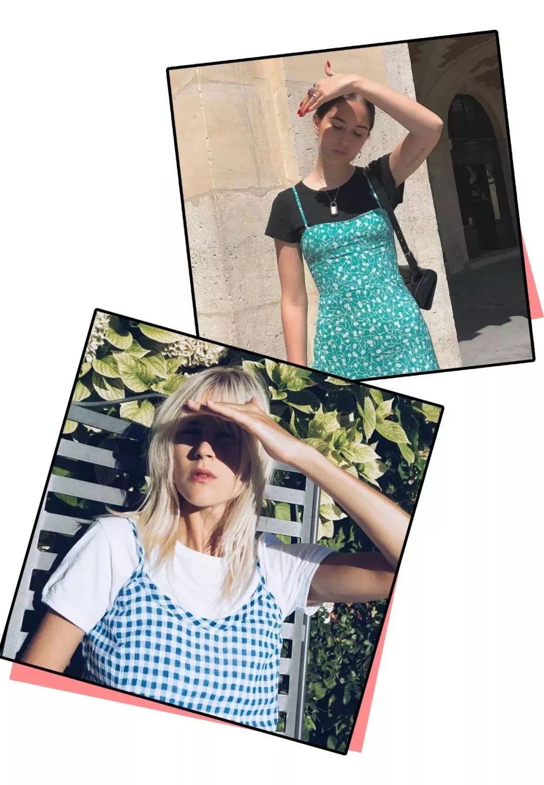 夏季穿衣搭配 吊带+短裙美到爆 回头率飙升!(图11)