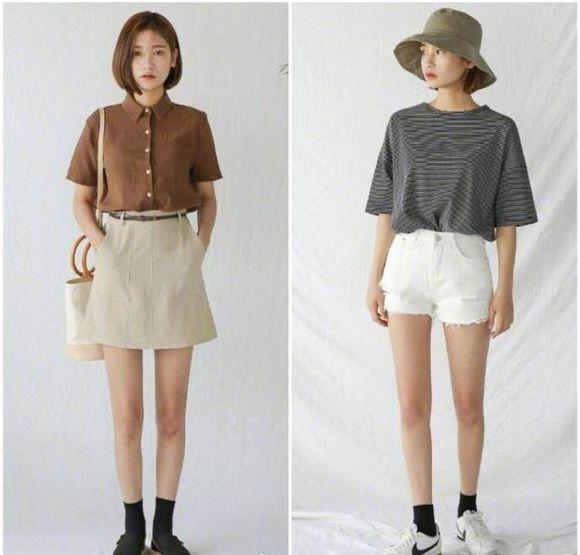 小个子夏季穿衣指南,简约搭配凸显大长腿!(图2)