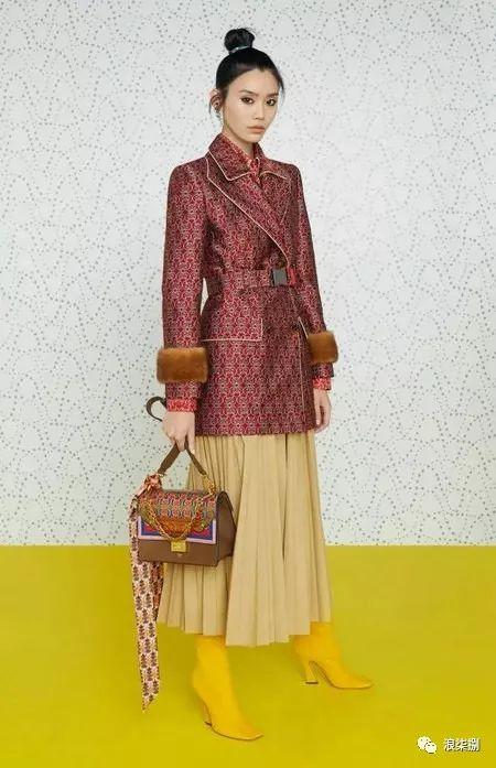 流行趋势 以织锦缎花型为灵感的复古主题,你喜欢吗?(图20)