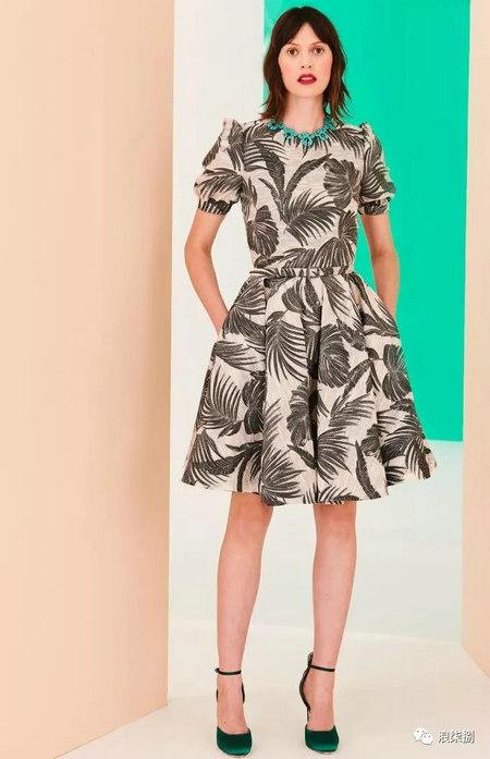 2020度假女装面料流行趋势,装饰锦缎(图33)