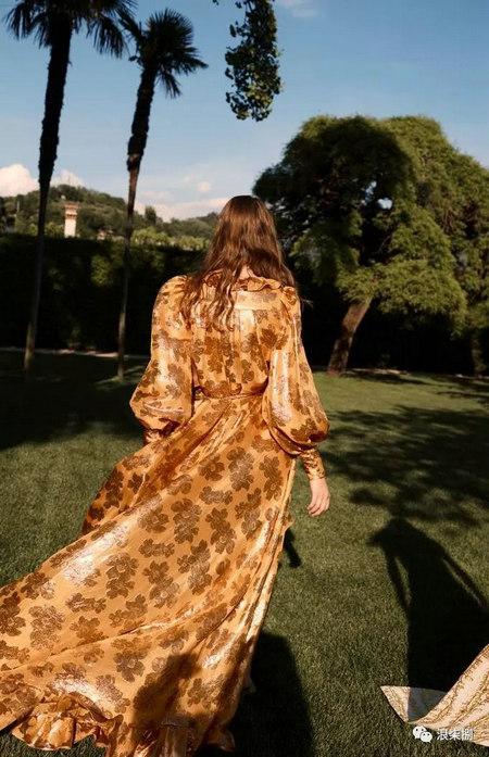 2020度假女装面料流行趋势,装饰锦缎(图28)