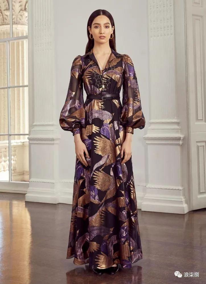2020度假女装面料流行趋势,装饰锦缎(图32)