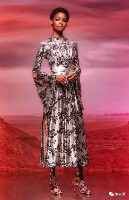 2020度假女装面料流行趋势,装饰锦缎(图37)
