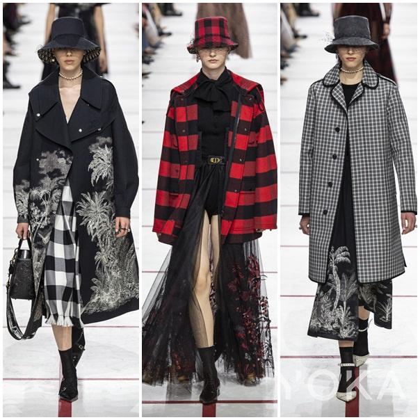 Dior 2019秋冬时装周