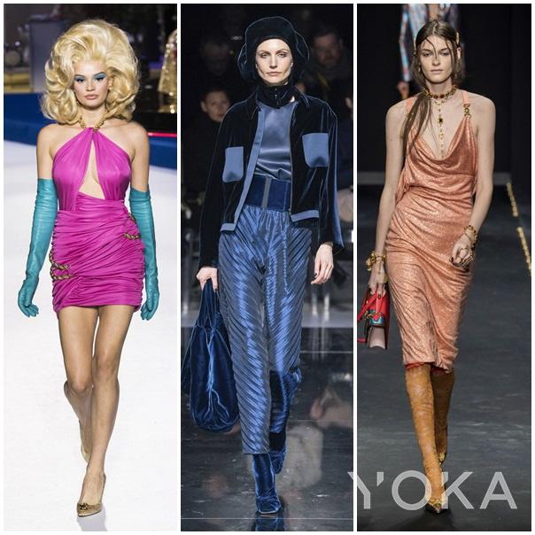 Moschino、Giorgio Armani、Versace 2019秋冬时装周