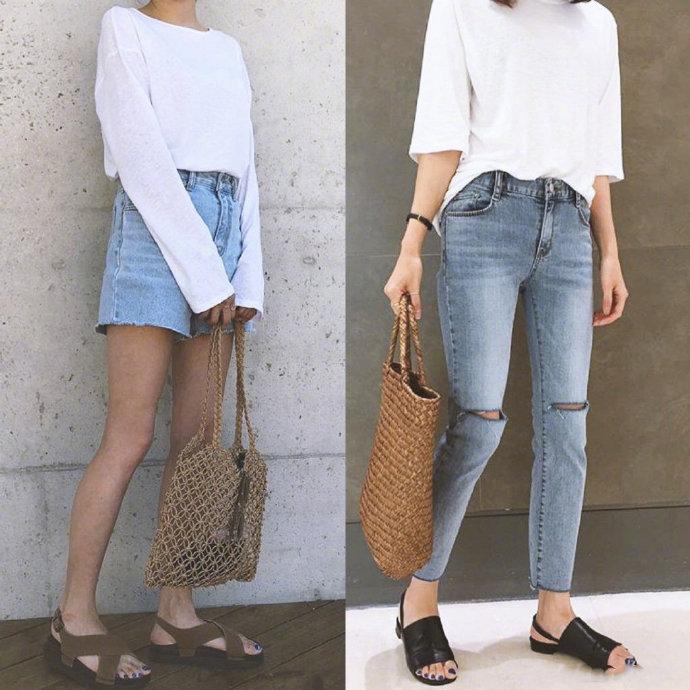 给搭配做减法,简单的裤装更有型