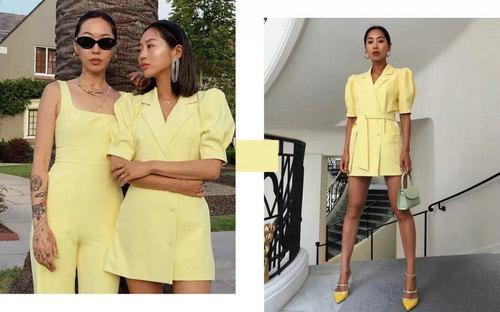 还在穿黑白灰?奶蜜黄色才是2019春夏最美流行色啊!(图24)