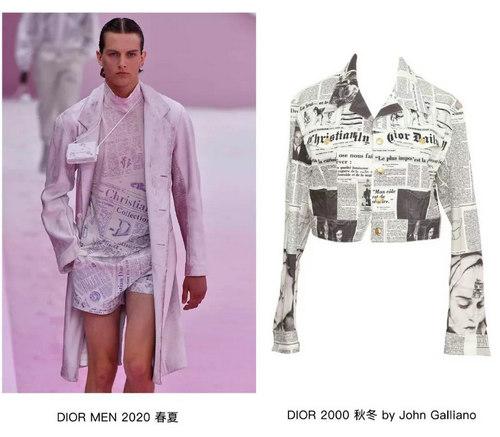 印花趋势 19年前 Dior 的报纸印花逆袭成时尚宠儿 (图15)