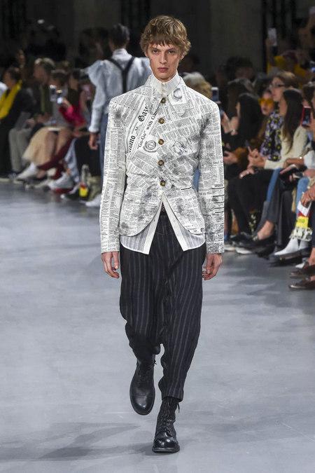 印花趋势 19年前 Dior 的报纸印花逆袭成时尚宠儿 (图10)