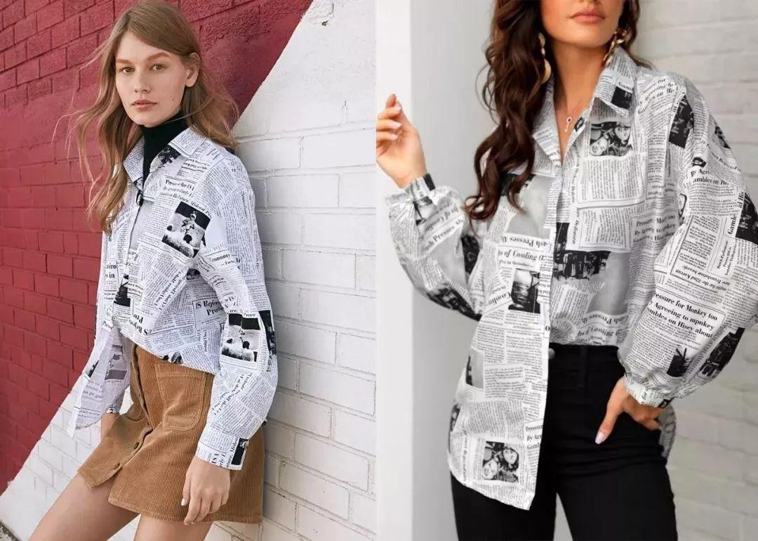 印花趋势 19年前 Dior 的报纸印花逆袭成时尚宠儿 (图37)