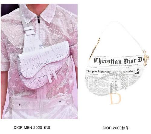 印花趋势 19年前 Dior 的报纸印花逆袭成时尚宠儿 (图16)