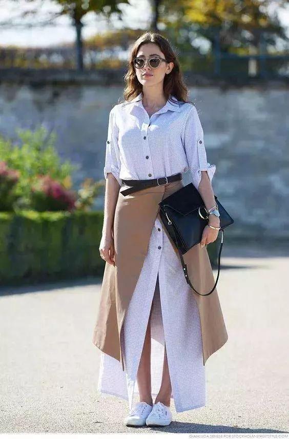 小白裙穿不好看?可以试试这3个方法~