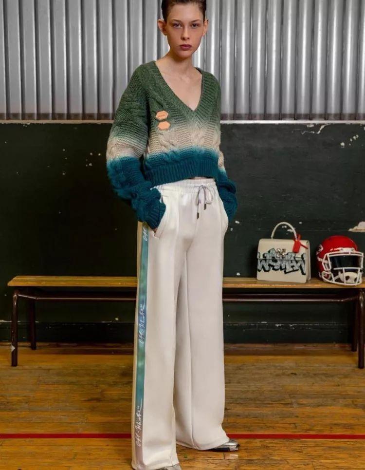 松垮V领|2020/21秋冬女装