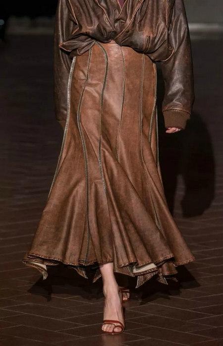 女装单品流行趋势 喇叭半身裙,尽显你的女人魅力(图2)