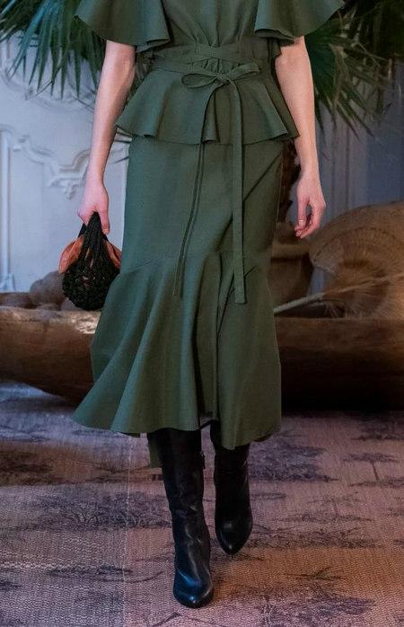 女装单品流行趋势 喇叭半身裙,尽显你的女人魅力(图11)