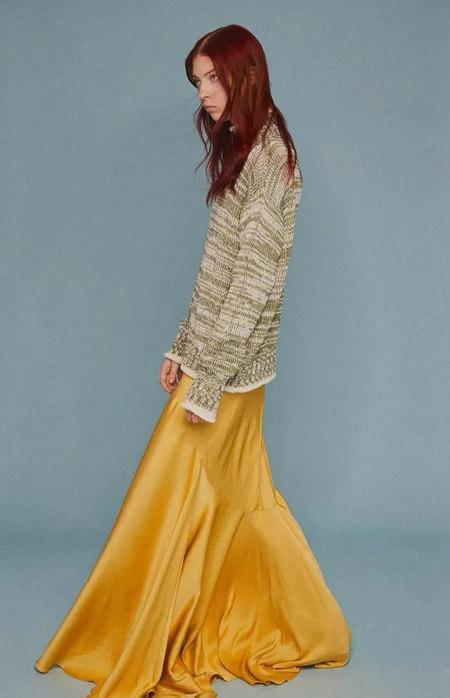 女装单品流行趋势 喇叭半身裙,尽显你的女人魅力(图18)