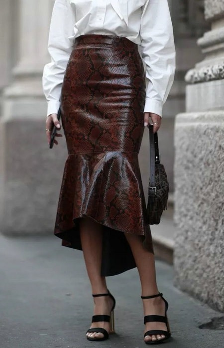 女装单品流行趋势 喇叭半身裙,尽显你的女人魅力(图26)