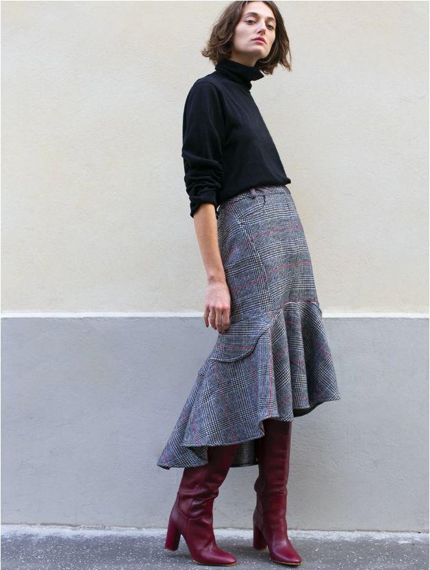 女装单品流行趋势 喇叭半身裙,尽显你的女人魅力(图25)