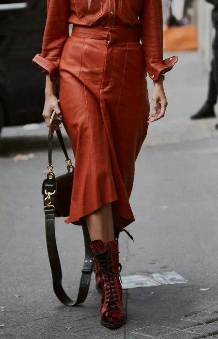 女装单品流行趋势 喇叭半身裙,尽显你的女人魅力(图27)