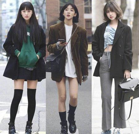 适合帅气潮流女孩穿的27套秋季搭配 显高显腿长(图1)