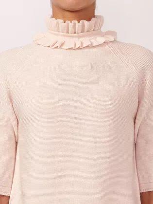 细腻 从多变的领间设计,看女装毛衫工艺趋势(图6)
