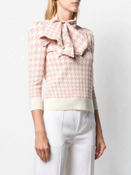 细腻 从多变的领间设计,看女装毛衫工艺趋势(图13)
