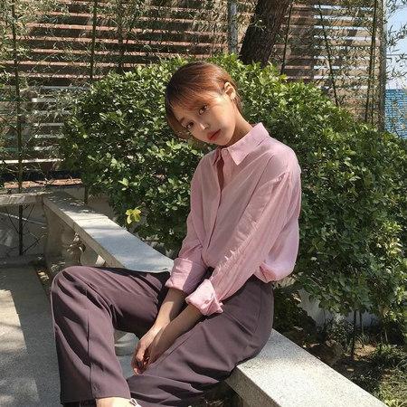 衬衫+奶奶裤,秋天超慵懒时髦风穿搭(图21)