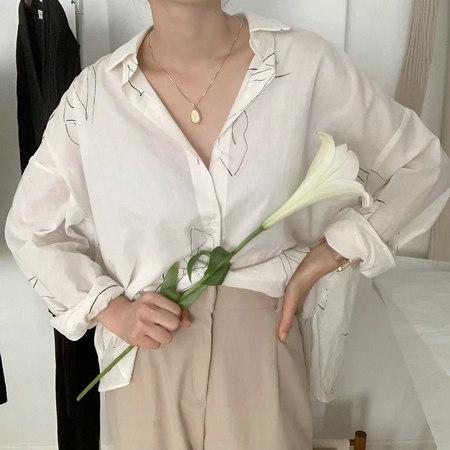 衬衫+奶奶裤,秋天超慵懒时髦风穿搭(图45)