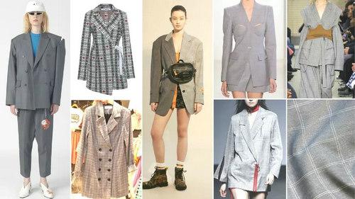 2020春夏女装套装西服流行趋势 炫彩便西(图5)