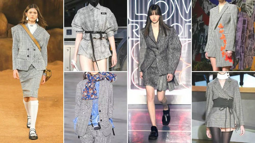 2020春夏女装套装西服流行趋势 炫彩便西(图6)