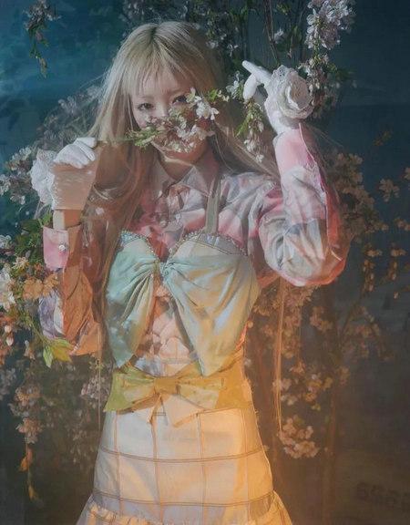 2020春夏女�b流行面料��蓊A�y(�D14)