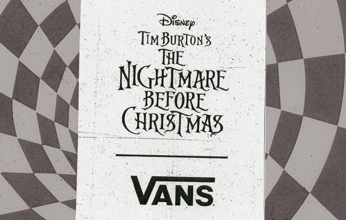 """想要度过""""平安夜""""不简单!VANS x Nightmare Before Christmas联名系列全新单品曝光!"""