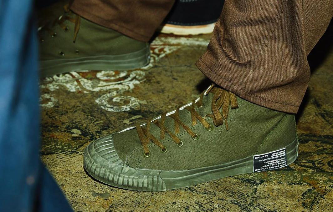 能否比肩CONVERSE联名?NEIGHBORHOOD自主G.R.Hi系列鞋款上架在即!
