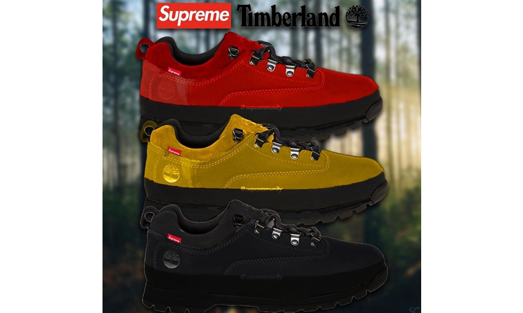 """只知道""""大黄靴""""?Supreme x Timberland全新联名系列不容错过!"""