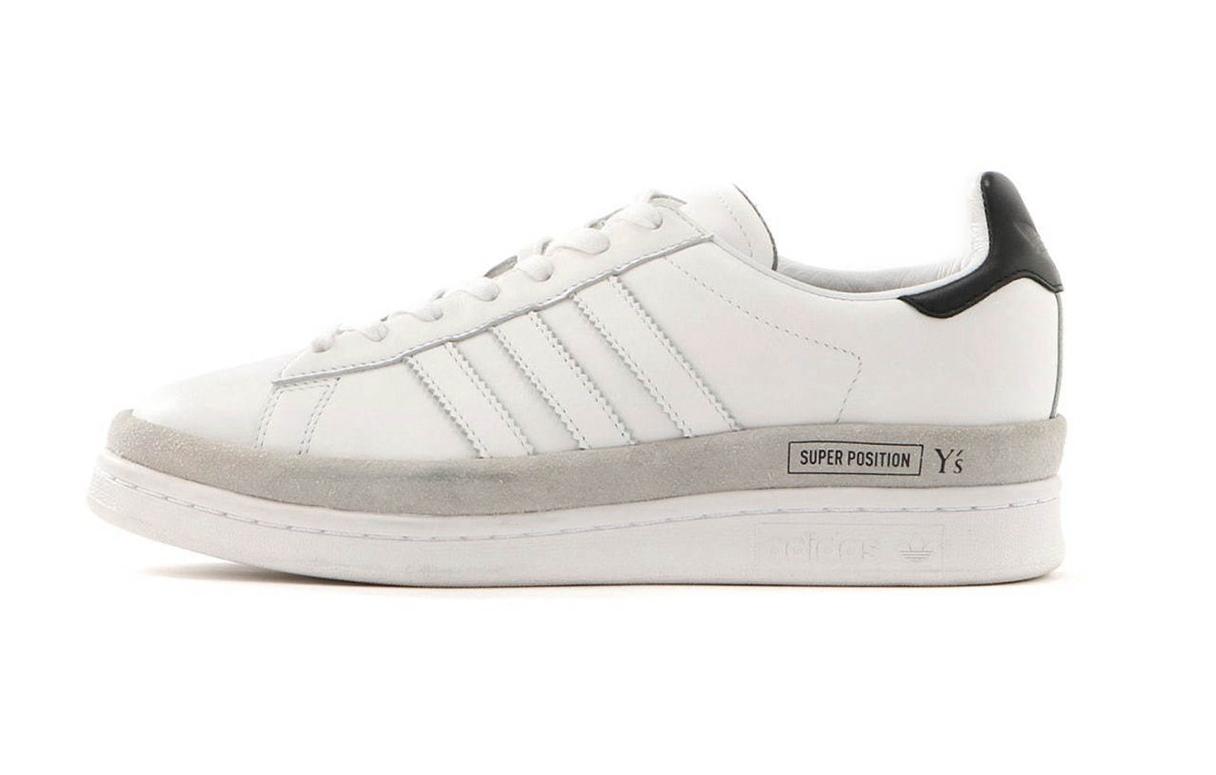 重塑校园风格!Yohji Yamamoto支线Y's x adidas全新Campus系列鞋款正式登场!