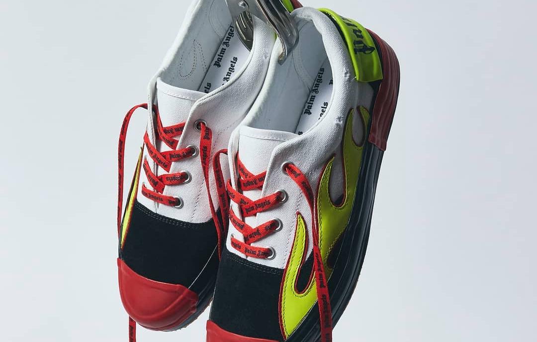 """""""火焰""""元素不是CONVERSE专利!Palm Angels推出全新""""飞火流星""""鞋款!"""