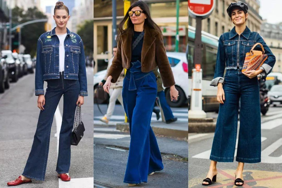 【鲜】别再穿紧身裤了 这4条牛仔裤最流行美爆了