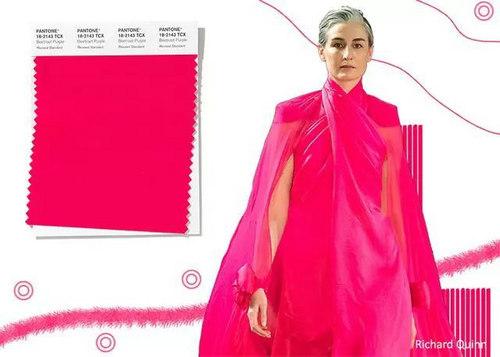 2020年春夏流行色早知道 24种色彩趋势 重回时尚舞台(图11)
