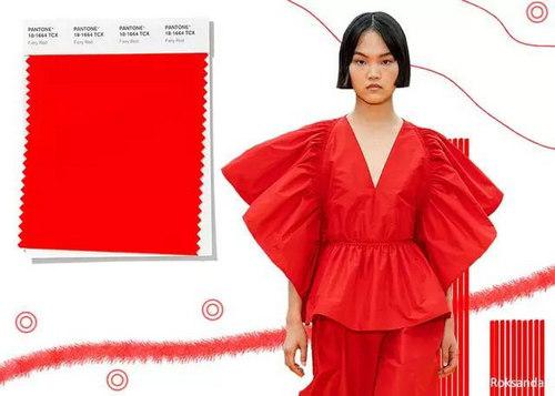 2020年春夏流行色早知道 24种色彩趋势 重回时尚舞台(图1)