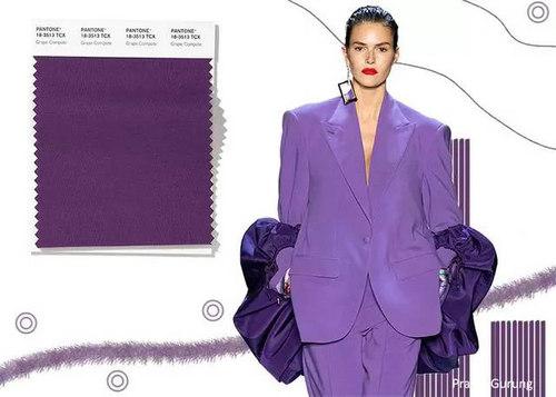 2020年春夏流行色早知道 24种色彩趋势 重回时尚舞台(图10)