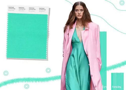 2020年春夏流行色早知道 24种色彩趋势 重回时尚舞台(图20)