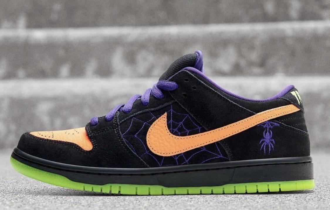 街头霸主回潮NO.1!Nike SB Dunk 万圣节限定配色帅气来袭!
