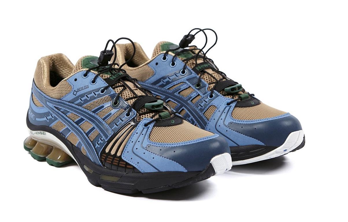 Kiko Kostadinov全新力作!AFFIX x ASICS GEL-Kinsel全新联名鞋款正式上架!