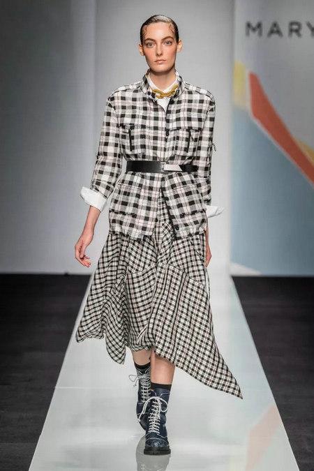 2020春夏女装流行趋势 创新格纹(图16)