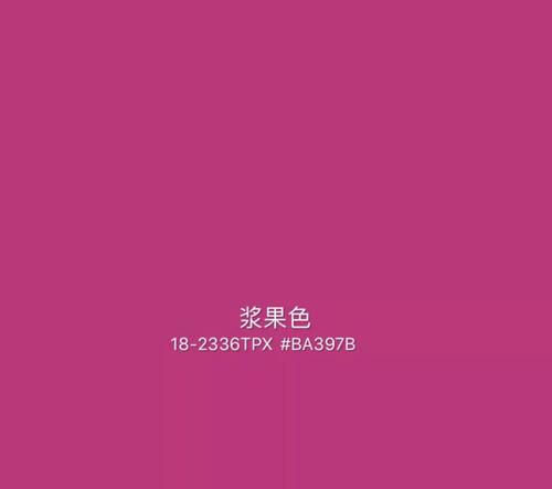 2020年秋冬重点流行色趋势:浆果色&深薰衣草紫色(图1)