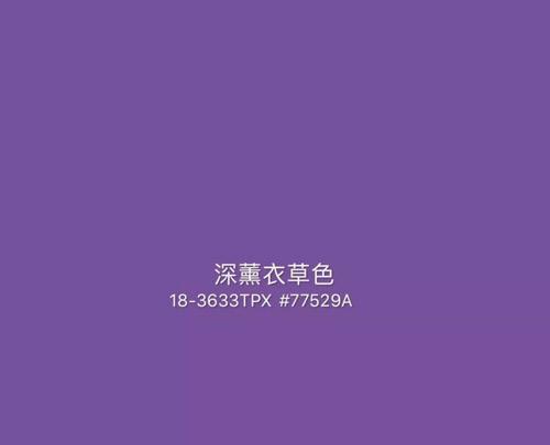 2020年秋冬重点流行色趋势:浆果色&深薰衣草紫色(图18)