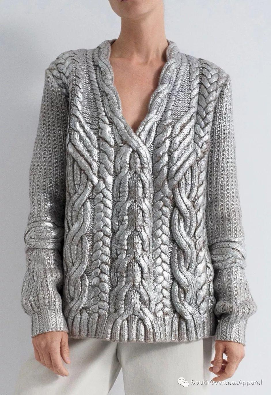 流行趋势 2020秋冬毛衣在流行些什么(图3)