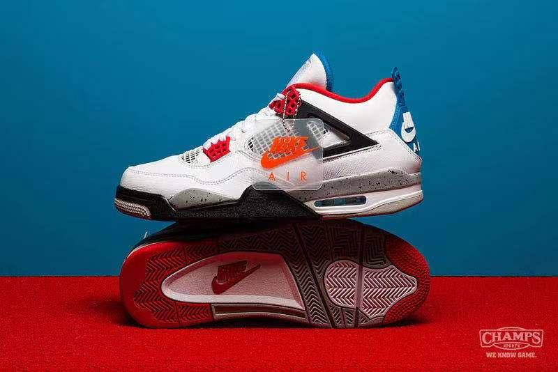 "Air Jordan 4 ""What The""配色下周重磅登场,你准备好了吗?"