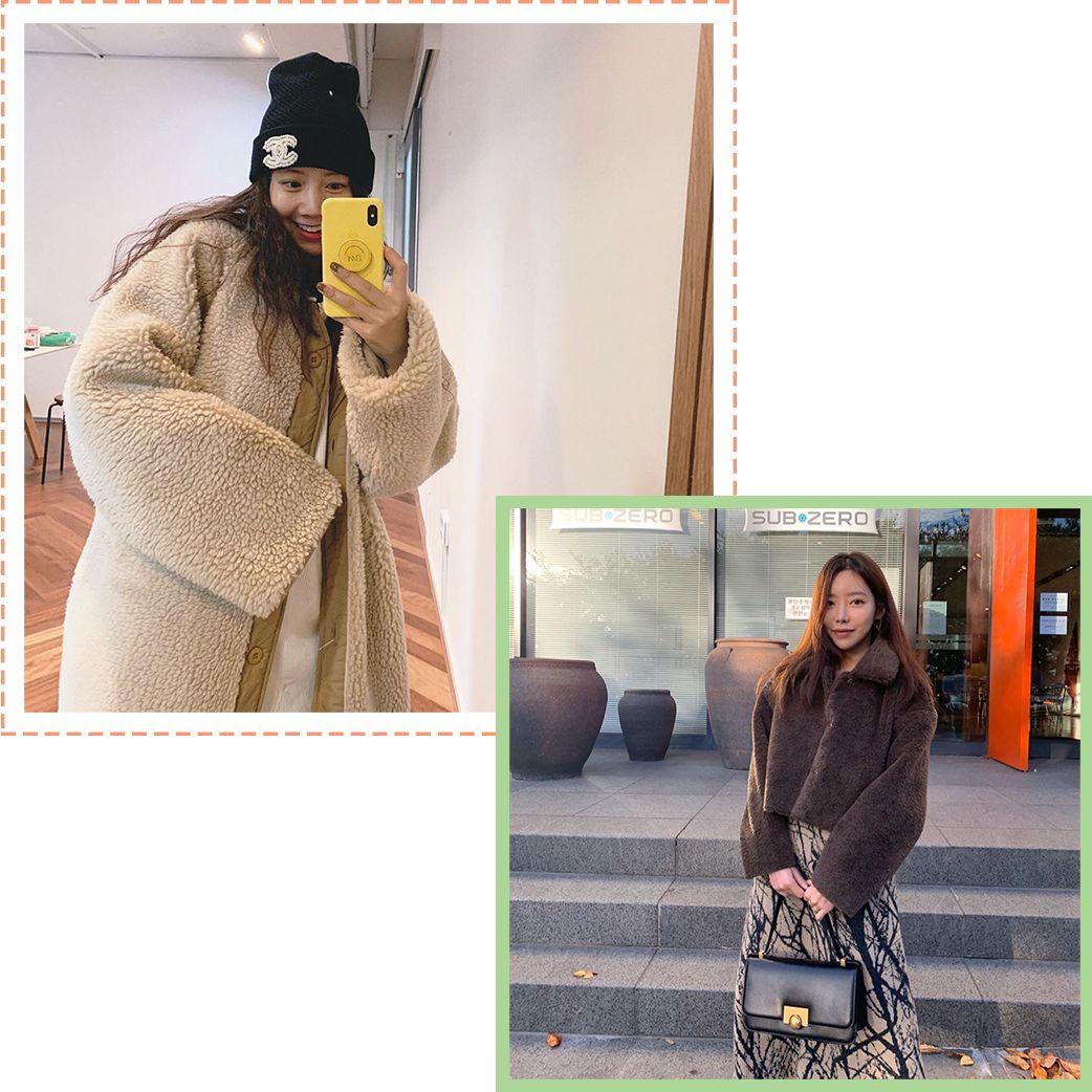 【鲜】格纹、毛绒、皮衣、小香风外套,秋冬这样穿这4件真的保