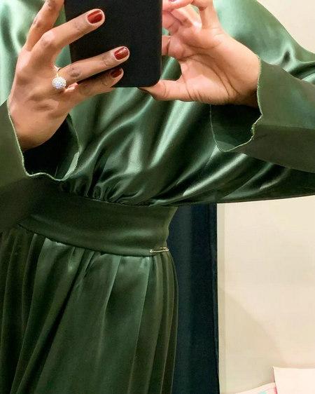 2019/20秋冬大热连身裙!选对面料能令轻奢度飙升(图8)